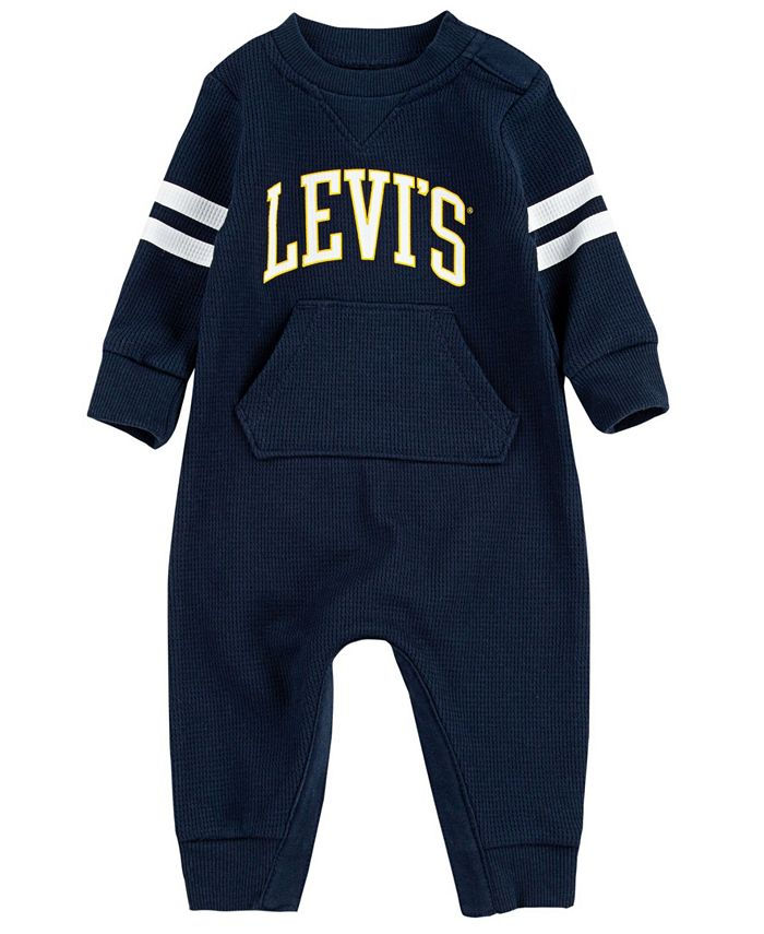 Levi's - Baby Boys Waffle Knit Coverall