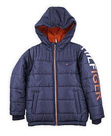 Tommy Hilfiger Little Boys Sleeve Hit Jacket