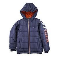 Tommy Hilfiger Toddler Boys Sleeve Hit Jacket (Blue)