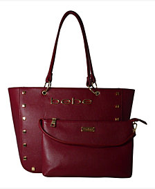 bebe Julian 2-Piece Medium Tote with Pouch