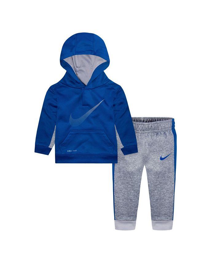 Nike - Baby Boys Therma Hoodie and Pants Set