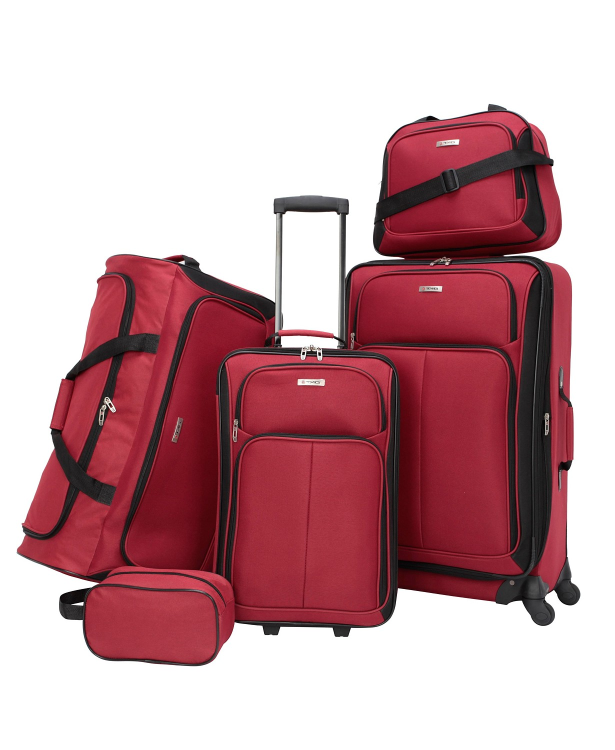 (79% OFF Deal) Ridgefield 5 Pc. Softside Luggage Set $49.99