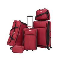 Deals on Tag Ridgefield 5 Pc. Softside Luggage Set