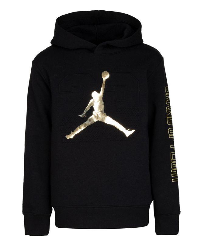 Jordan Toddler Boys Gold Champs Pull-Over Sweatshirt