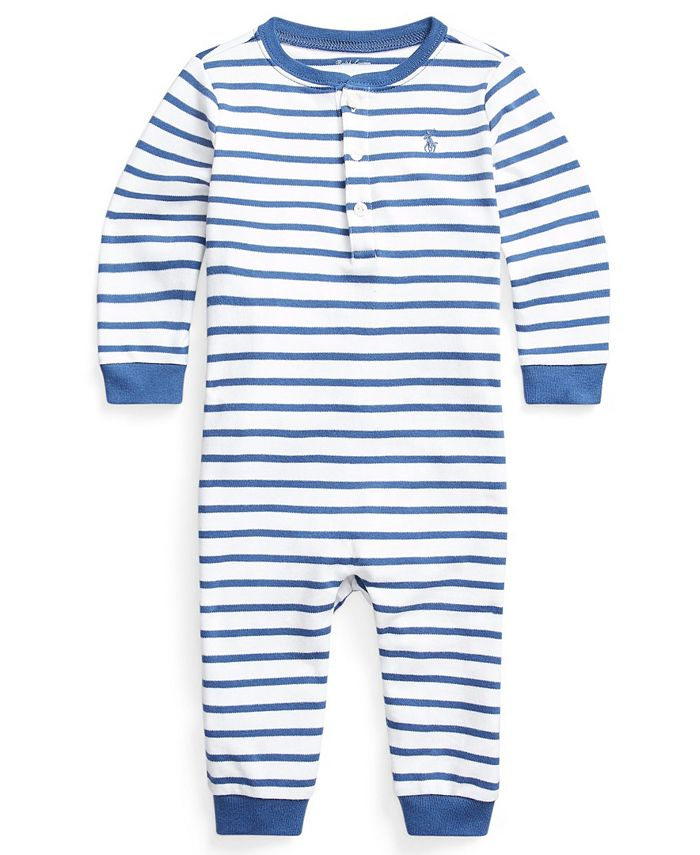 Polo Ralph Lauren - Baby Boys Striped Henley Coverall