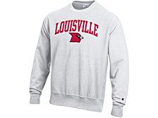 Champion Louisville Cardinals Men's Vault Reverse Weave Sweatshirt