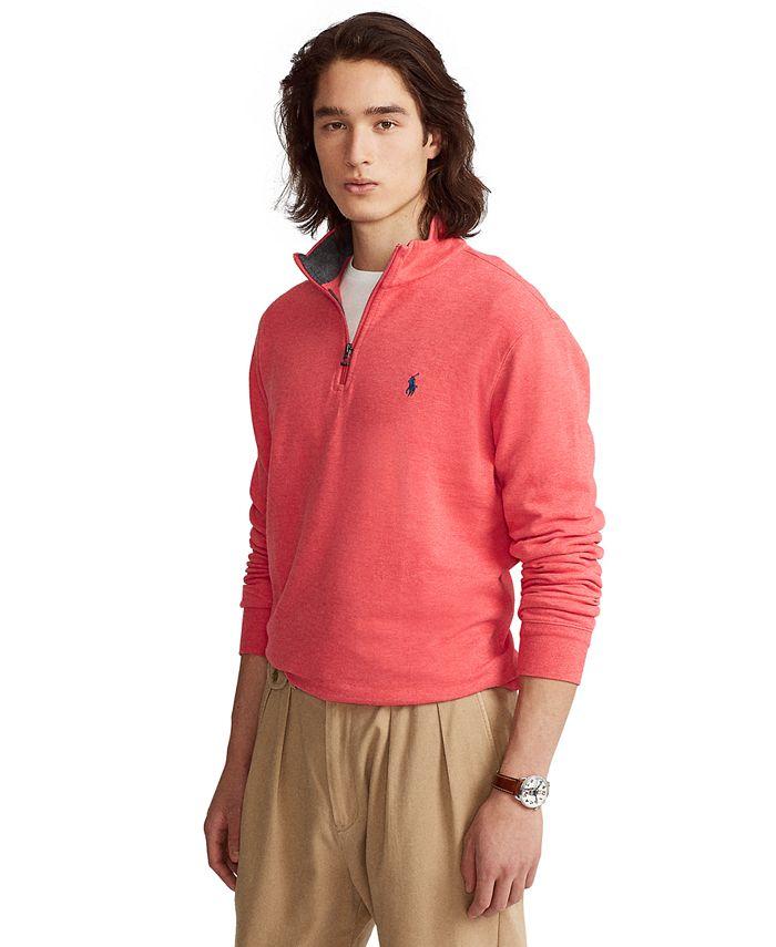 Polo Ralph Lauren - Men's Jersey Quarter-Zip Pullover