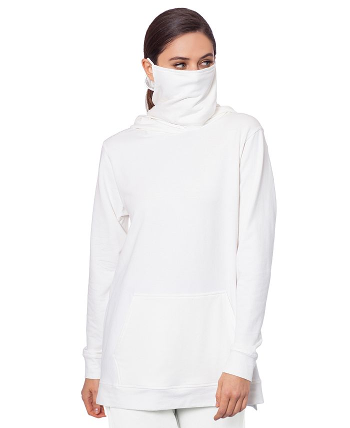 BAM by Betsy & Adam - Side-Zip Hoodie with Removable Mask