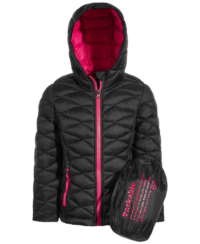 Reebok - Little Girls Glacier Shield Packable Jacket