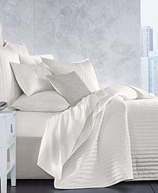Hotel Collection Channels Velvet King Coverlet, Created for Macy's