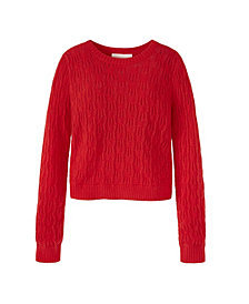 Adyson Parker Women's Pointelle Sweater