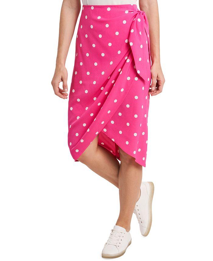 Riley & Rae - Ami Dot-Print Skirt
