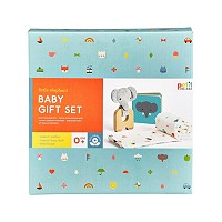 Deals on Wild And Wolf Little Elephant Baby Gift Set