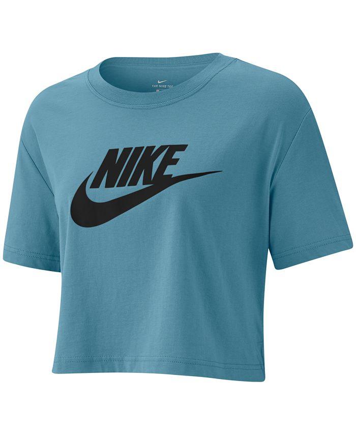 Nike - Sportswear Cotton Logo Cropped T-Shirt