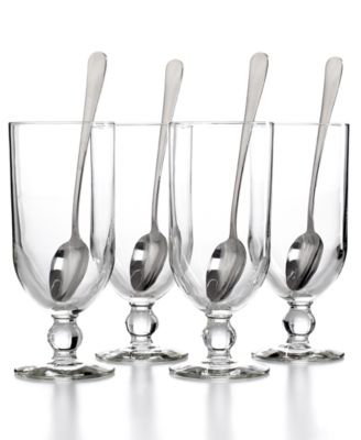 The Cellar 8-Pc. Parfait Set with Sundae Spoons