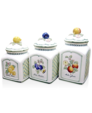 Villeroy & Boch Canisters, Set of 3 French Garden