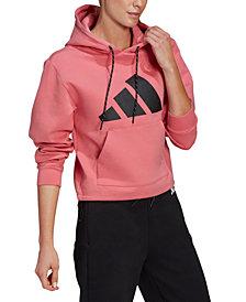 adidas Women's Logo Hoodie