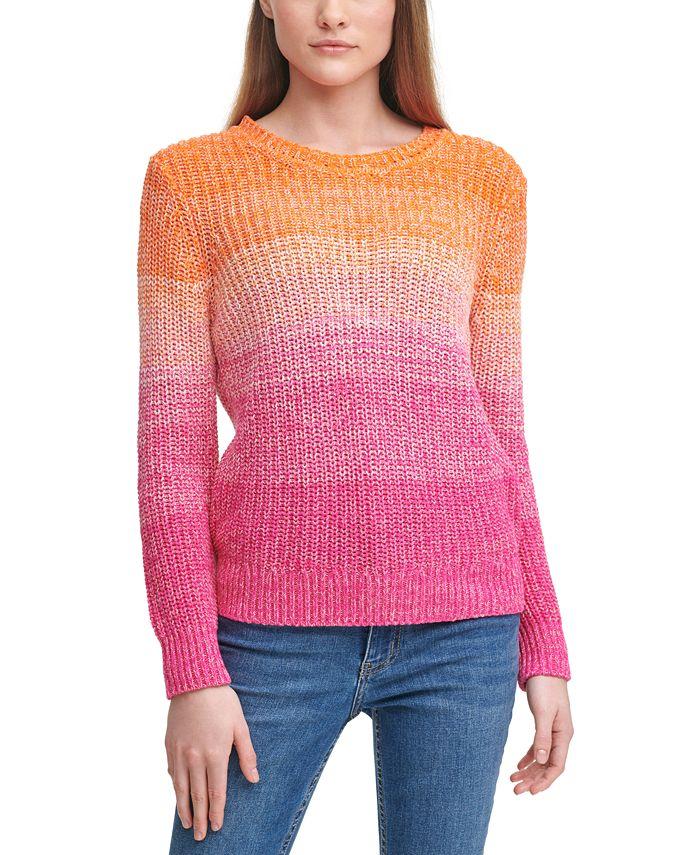 Calvin Klein - Cotton Ombré Sweater