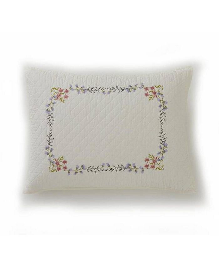 Martha Stewart Collection - Floral Bouquet Bedding Collection, Created for Macy's