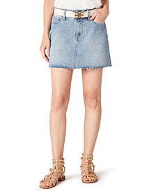 Sam Edelman The Jenny Cotton Denim Mini Skirt