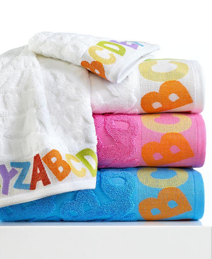 """Kassatex - Bambini ABC 16"""" x 28"""" Hand Towel"""