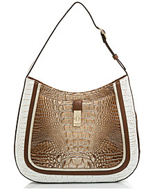 Brahmin Johanna Shoreham Embossed Leather Shoulder