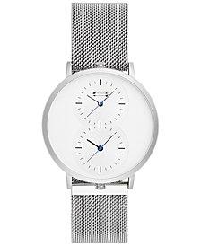 Uri Minkoff Men's Griffith Stainless Steel Mesh Bracelet Watch 43mm