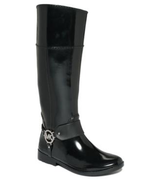 MICHAEL Michael Kors Fulton Harness Rain Boots Womens Shoes