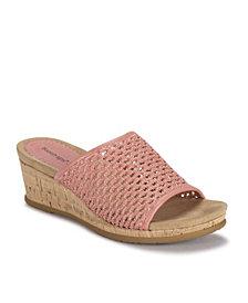 Baretraps Flossey Wedge Sandal Slides