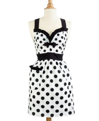 Martha Stewart Collection Polka Dot Apron