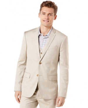 Perry Ellis Texture Blazer $119.99 AT vintagedancer.com