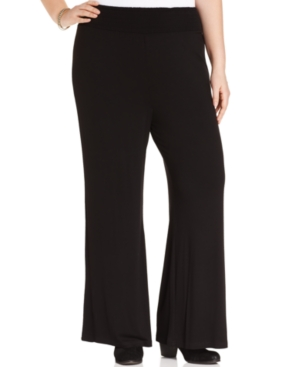 American Rag Plus Size Wide-Leg Pull-On Pants