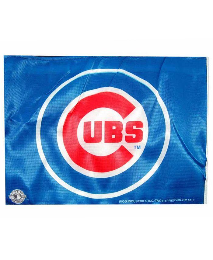 Rico Industries - Chicago Cubs Car Flag