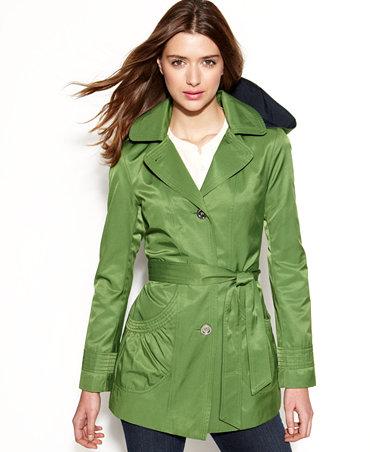 Laundry By Design Hooded Trench Coat Coats Women Macy S