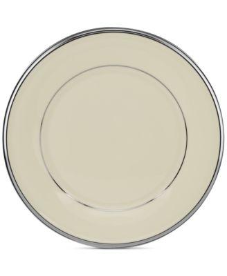 """Lenox """"Solitaire"""" Salad Plate"""