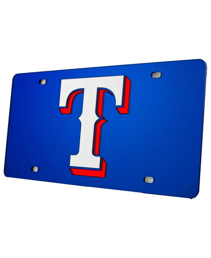 Rico Industries - Texas Rangers Laser Tag License Plate