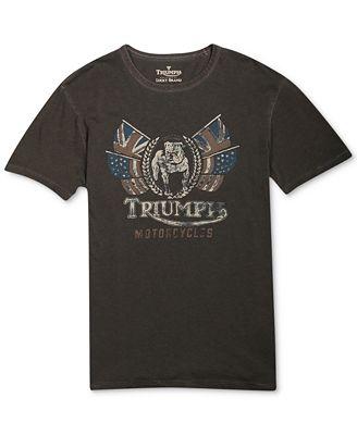 Lucky Brand Jeans Triumph Bulldog T Shirt T Shirts Men