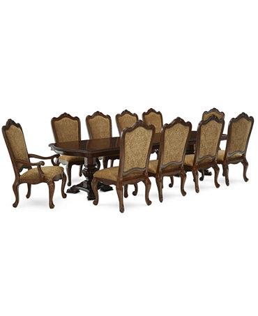 Lakewood 11 Piece Dining Room Furniture Set Furniture Macy 39 S