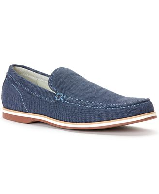 calvin klein jeans hamond canvas slip on loafers shoes. Black Bedroom Furniture Sets. Home Design Ideas