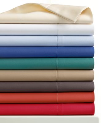 Charter Club Damask Solid 500 Thread Count King Pillowcase Pair