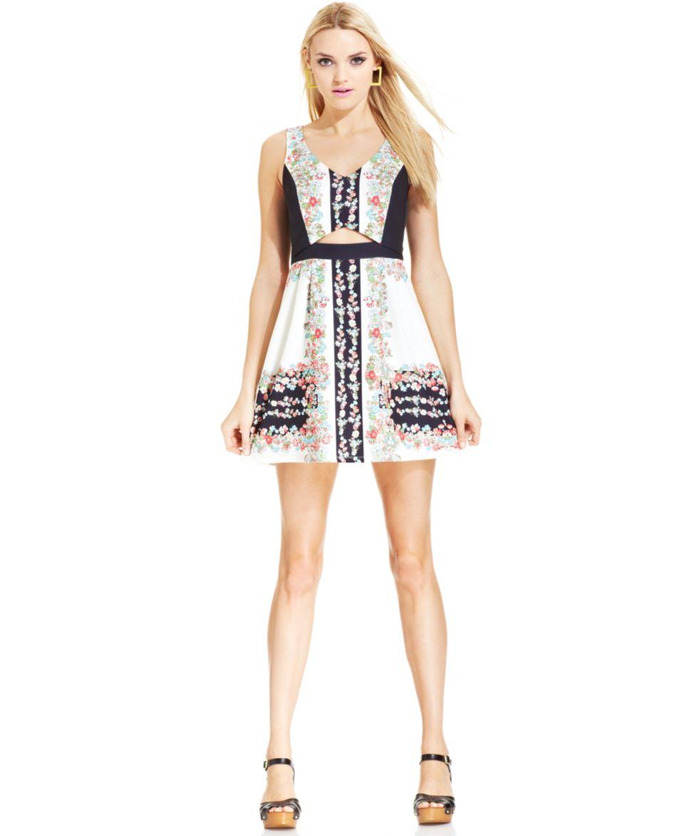 MADE Fashion Week for Impulse Floral Print Dress   Dresses   Women