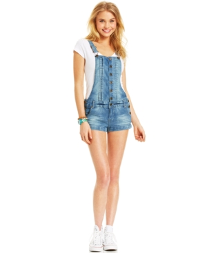 Celebrity Pink Jeans Juniors' Shorts Overalls $ 29.99