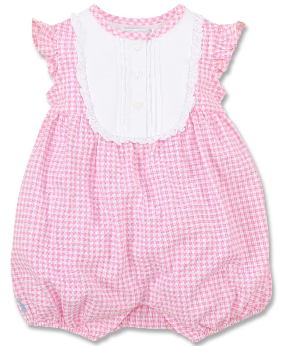 Ralph Lauren Baby Girls Cotton Sateen Dress   Kids