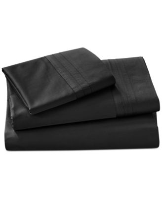 Donna Karan Home Ebony Queen Fitted Sheet