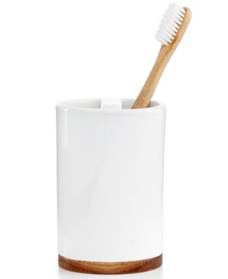 Hotel Collection Century Toothbrush Holder, Only at Macy's