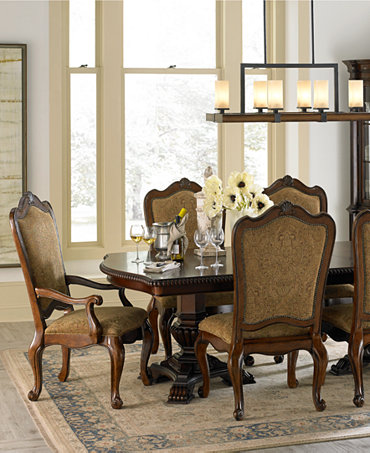 Lakewood dining room furniture furniture macy 39 s for Dining room tables macys