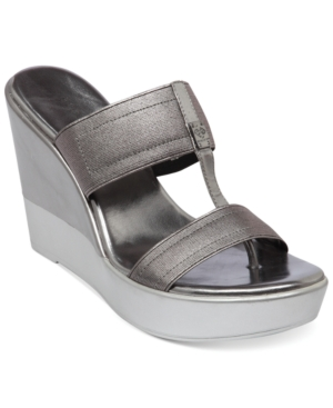 BCBGeneration Quinton Platform Wedge Sandals Women's Shoes