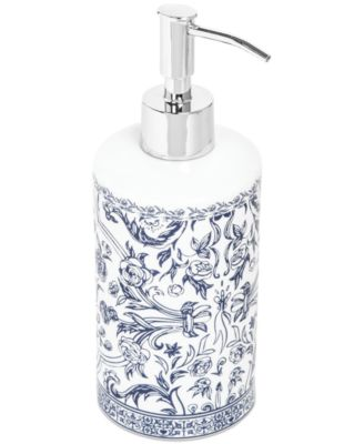 Kassatex Bath Accessories, Orsay Soap and Lotion Dispenser