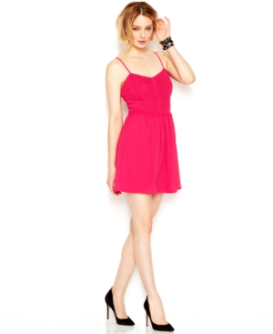 Bar Iii Pleated Dress $ 69.50