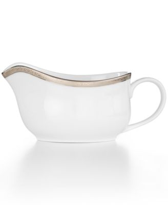 Charter Club Grand Buffet Platinum Gravy Boat